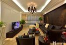 80平米现代简约风格客厅沙发图片