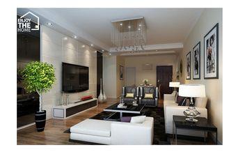 30平米以下超小户型英伦风格客厅装修效果图