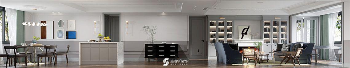 140平米四美式风格客厅装修图片大全