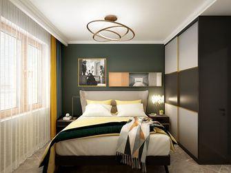90平米混搭风格卧室装修图片大全