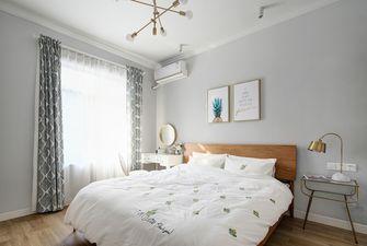 70平米现代简约风格卧室设计图