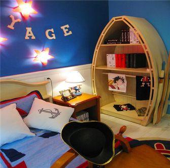 100平米英伦风格儿童房图片