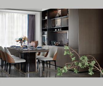 100平米三室一厅欧式风格餐厅设计图