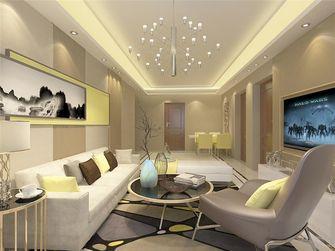 100平米公寓现代简约风格客厅沙发欣赏图