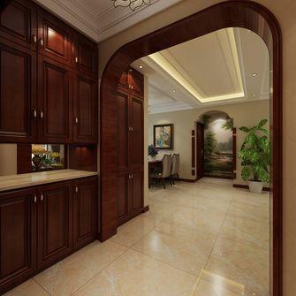 140平米三室两厅新古典风格玄关欣赏图