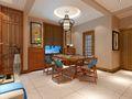 140平米别墅东南亚风格玄关装修效果图