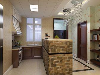 140平米四室三厅田园风格餐厅装修效果图
