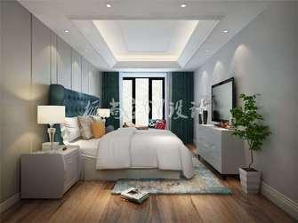 经济型80平米一室两厅宜家风格卧室设计图