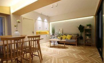 80平米北欧风格餐厅设计图