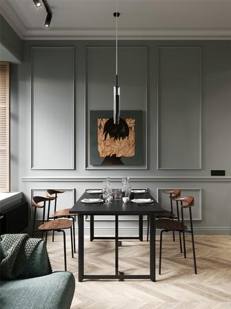 70平米一室一厅美式风格餐厅设计图