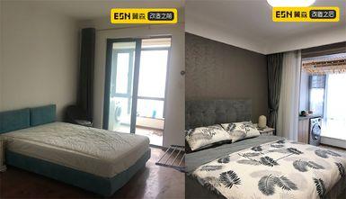 富裕型110平米现代简约风格卧室图片