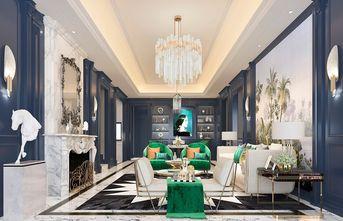 140平米三室两厅欧式风格客厅图片
