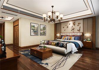 120平米三室两厅中式风格卧室设计图