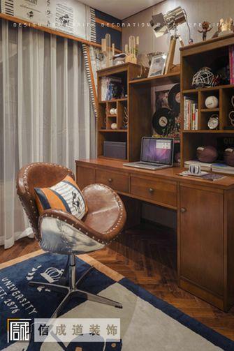 110平米三室两厅中式风格书房装修图片大全