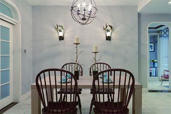 120平米三室三厅地中海风格餐厅装修案例