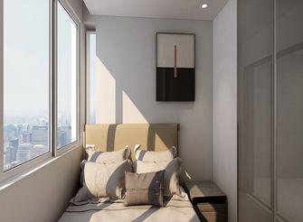 80平米现代简约风格阳台装修案例