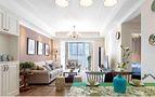 富裕型140平米四室四厅田园风格书房装修效果图