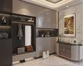 140平米三室两厅法式风格玄关装修效果图