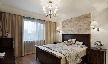 140平米三室两厅美式风格卧室家具装修效果图