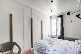 60平米公寓现代简约风格卧室装修图片大全