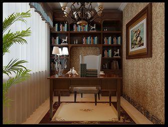 140平米三室四厅欧式风格书房欣赏图