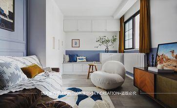 经济型60平米一室一厅混搭风格客厅图片大全