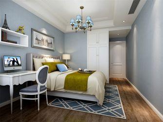 140平米三室一厅欧式风格卧室欣赏图