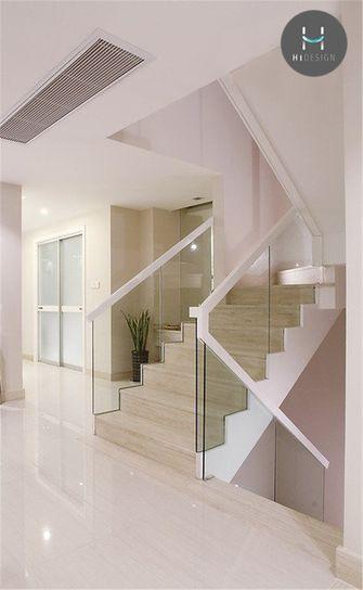 20万以上140平米复式现代简约风格楼梯装修案例