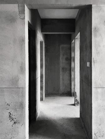 20万以上90平米三室两厅现代简约风格走廊装修效果图