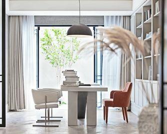 140平米四室五厅法式风格书房装修效果图