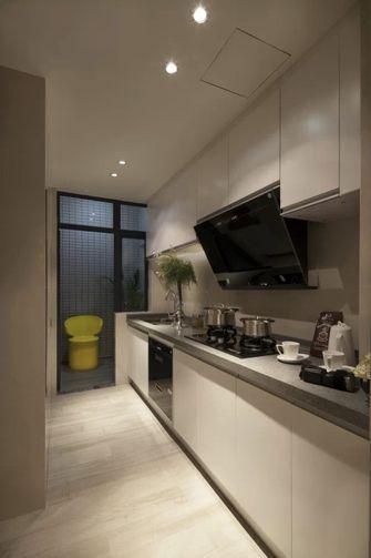 80平米一室一厅现代简约风格厨房欣赏图