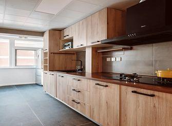 90平米三日式风格厨房设计图