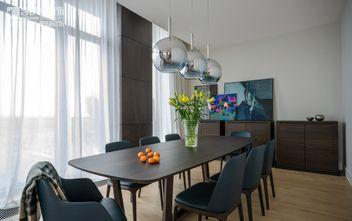 100平米三室两厅新古典风格餐厅飘窗图片