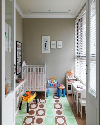 70平米三室一厅美式风格儿童房装修效果图