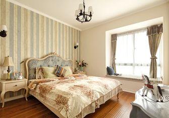 140平米三室两厅田园风格卧室效果图