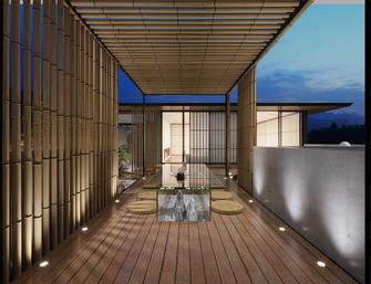 130平米别墅日式风格阳光房欣赏图