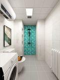 70平米一室一厅日式风格卫生间图