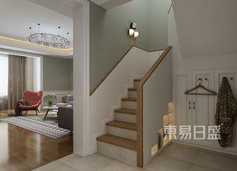 140平米别墅北欧风格楼梯间图片