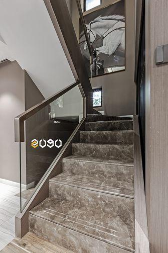 140平米四室两厅混搭风格楼梯间图片