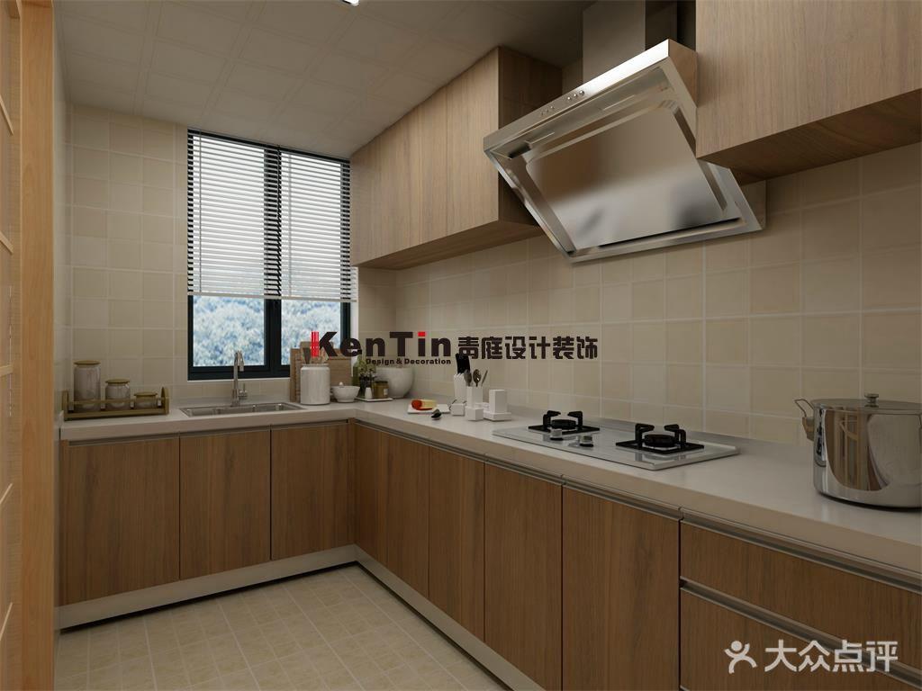 富裕型140平米四室两厅日式风格厨房装修效果图