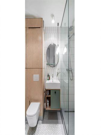 60平米公寓北欧风格卫生间装修图片大全