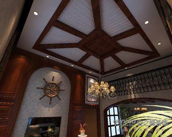 140平米三室两厅东南亚风格阁楼图片