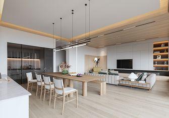 140平米四室三厅北欧风格餐厅装修图片大全
