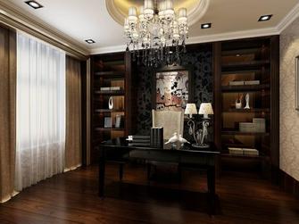 140平米四室三厅新古典风格书房图片大全
