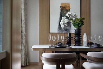 90平米三室一厅新古典风格餐厅效果图