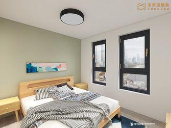 60平米混搭风格卧室设计图