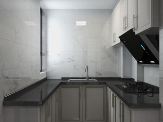70平米美式风格厨房装修图片大全