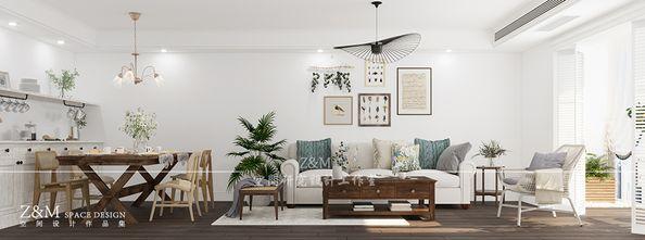 3万以下120平米三室两厅美式风格客厅欣赏图