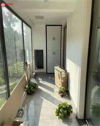 80平米三室两厅现代简约风格阳台装修效果图