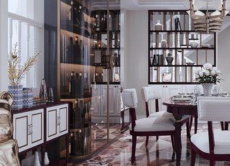 140平米三室一厅法式风格书房设计图